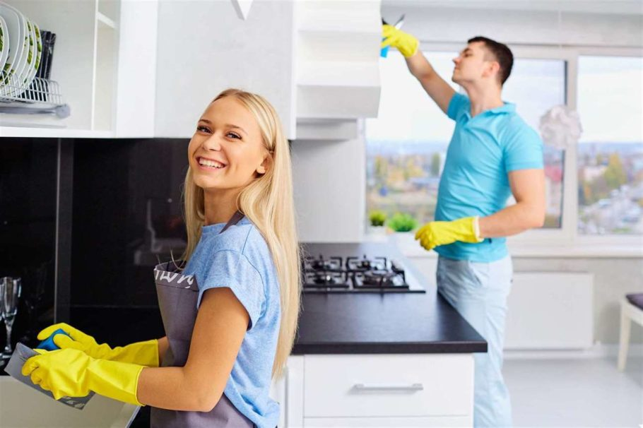 mutfak temizliğinde etkili yöntemler