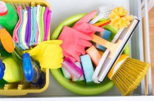 temizlik malzemelerinin hazırlanması